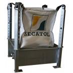 Cubeta de soporte compacta para Big-Bag